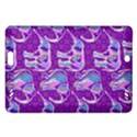 Cute Violet Elephants Pattern Amazon Kindle Fire HD (2013) Hardshell Case View1