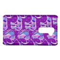 Cute Violet Elephants Pattern LG G2 View1