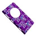 Cute Violet Elephants Pattern Nokia Lumia 1020 View5