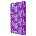 Cute Violet Elephants Pattern Samsung Galaxy Tab Pro 8.4 Hardshell Case View3