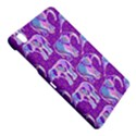 Cute Violet Elephants Pattern Samsung Galaxy Tab Pro 8.4 Hardshell Case View4