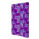 Cute Violet Elephants Pattern iPad Air 2 Hardshell Cases View3