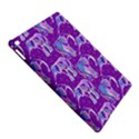 Cute Violet Elephants Pattern iPad Air 2 Hardshell Cases View5