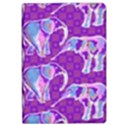 Cute Violet Elephants Pattern iPad Air 2 Flip View1
