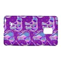 Cute Violet Elephants Pattern Galaxy Note Edge View1
