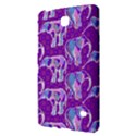 Cute Violet Elephants Pattern Samsung Galaxy Tab 4 (7 ) Hardshell Case  View2