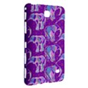 Cute Violet Elephants Pattern Samsung Galaxy Tab 4 (7 ) Hardshell Case  View3