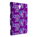 Cute Violet Elephants Pattern Samsung Galaxy Tab S (8.4 ) Hardshell Case  View3