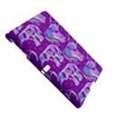 Cute Violet Elephants Pattern Samsung Galaxy Tab S (10.5 ) Hardshell Case  View5
