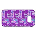 Cute Violet Elephants Pattern Galaxy S6 View1