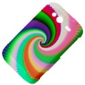 Colorful Spiral Dragon Scales   HTC Wildfire S A510e Hardshell Case View4