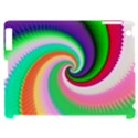 Colorful Spiral Dragon Scales   Apple iPad 2 Hardshell Case (Compatible with Smart Cover) View1