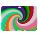 Colorful Spiral Dragon Scales   Samsung Galaxy Tab 8.9  P7300 Hardshell Case  View1