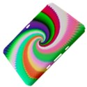 Colorful Spiral Dragon Scales   Samsung Galaxy Tab 8.9  P7300 Hardshell Case  View4