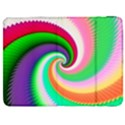 Colorful Spiral Dragon Scales   Samsung Galaxy Tab 7  P1000 Flip Case View1