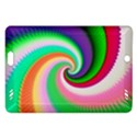 Colorful Spiral Dragon Scales   Amazon Kindle Fire HD (2013) Hardshell Case View1