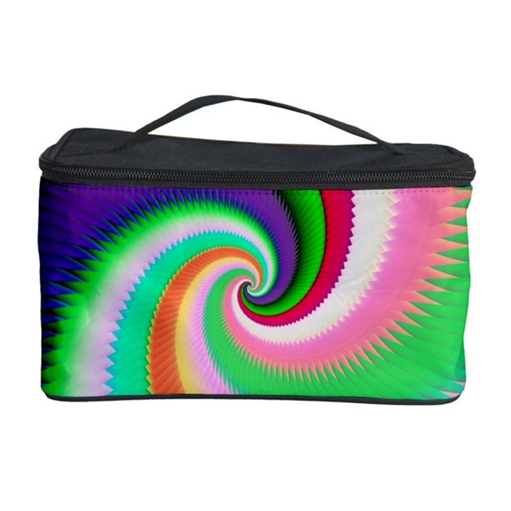 Colorful Spiral Dragon Scales   Cosmetic Storage Case