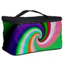 Colorful Spiral Dragon Scales   Cosmetic Storage Case View2