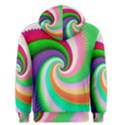 Colorful Spiral Dragon Scales   Men s Pullover Hoodie View2