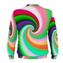Colorful Spiral Dragon Scales   Men s Sweatshirt View2