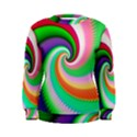 Colorful Spiral Dragon Scales   Women s Sweatshirt View1