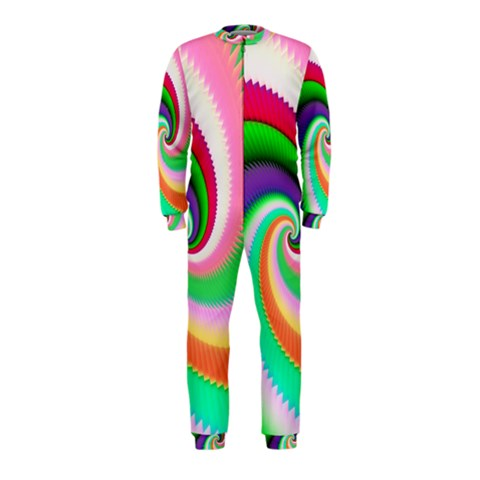 Colorful Spiral Dragon Scales   OnePiece Jumpsuit (Kids)