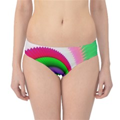 Colorful Spiral Dragon Scales   Hipster Bikini Bottoms