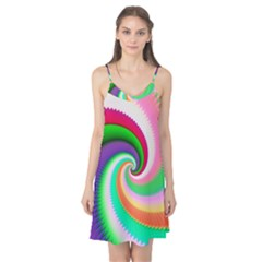 Colorful Spiral Dragon Scales   Camis Nightgown