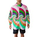 Colorful Spiral Dragon Scales   Wind Breaker (Kids) View1