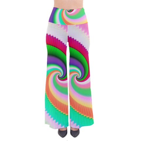 Colorful Spiral Dragon Scales   Pants