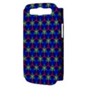 Honeycomb Fractal Art Samsung Galaxy S III Hardshell Case (PC+Silicone) View3