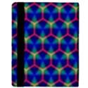 Honeycomb Fractal Art Apple iPad 2 Flip Case View3
