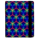 Honeycomb Fractal Art Apple iPad 3/4 Flip Case View2