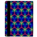Honeycomb Fractal Art Apple iPad 3/4 Flip Case View3