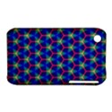 Honeycomb Fractal Art Apple iPhone 3G/3GS Hardshell Case (PC+Silicone) View1