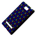 Honeycomb Fractal Art HTC 8S Hardshell Case View4