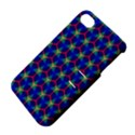 Honeycomb Fractal Art Apple iPhone 4/4S Hardshell Case with Stand View4