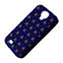Honeycomb Fractal Art Samsung Galaxy S4 Classic Hardshell Case (PC+Silicone) View4