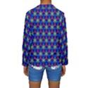 Honeycomb Fractal Art Kids  Long Sleeve Swimwear View2