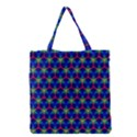 Honeycomb Fractal Art Grocery Tote Bag View1