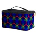 Honeycomb Fractal Art Cosmetic Storage Case View3