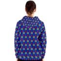 Honeycomb Fractal Art Women s Zipper Hoodie View2