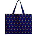 Honeycomb Fractal Art Zipper Mini Tote Bag View1