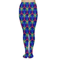 Honeycomb Fractal Art Women s Tights