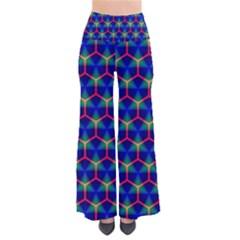 Honeycomb Fractal Art Pants