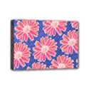 Pink Daisy Pattern Mini Canvas 7  x 5  View1