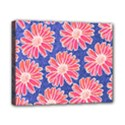 Pink Daisy Pattern Canvas 10  x 8  View1