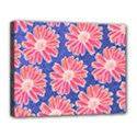 Pink Daisy Pattern Canvas 14  x 11  View1