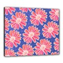 Pink Daisy Pattern Canvas 24  x 20  View1