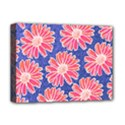 Pink Daisy Pattern Deluxe Canvas 16  x 12   View1